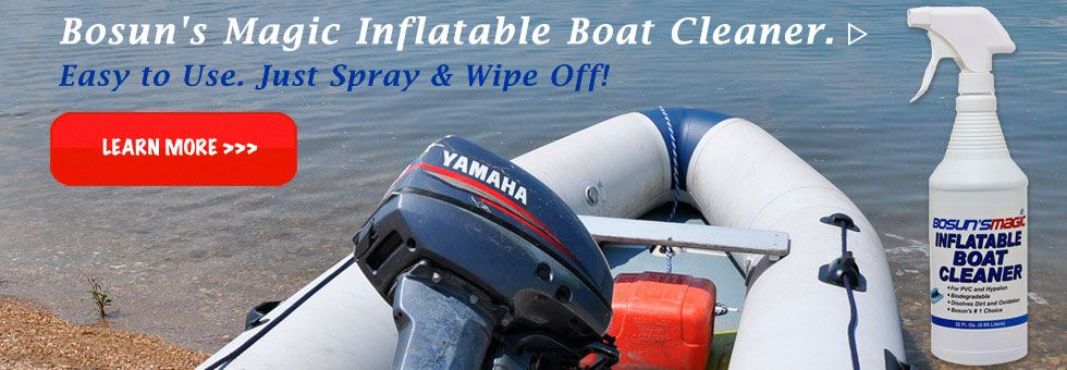 Bosun's Magic Inflatable Boat Cleaner